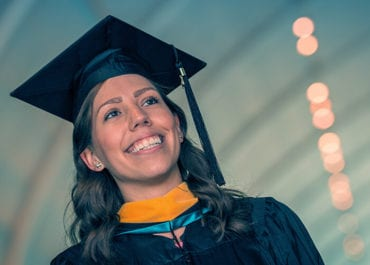 2017 KGI Student at Commencement 06