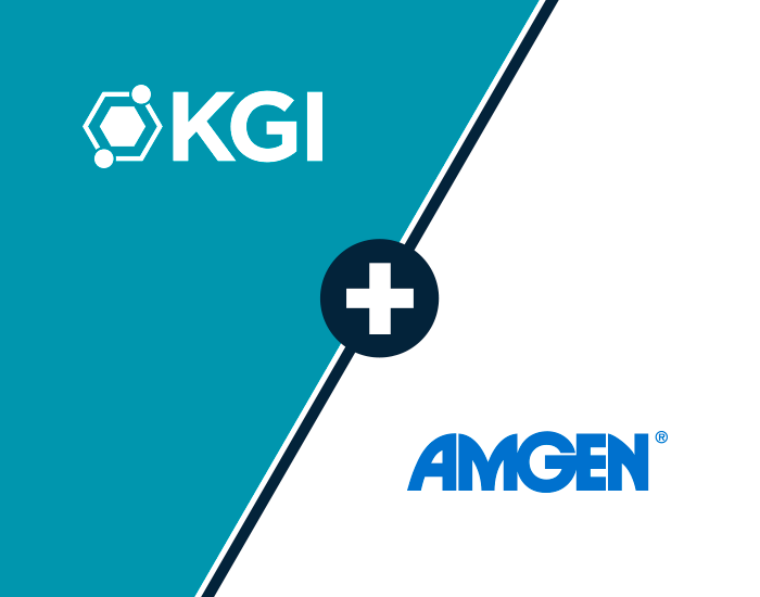 KGI Amgen partnership